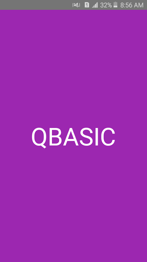 Qbasic Compiler For Android