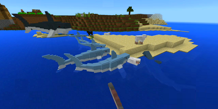 Jaws and Megalodon Addon MCPE 10 APK Download - Android Books
