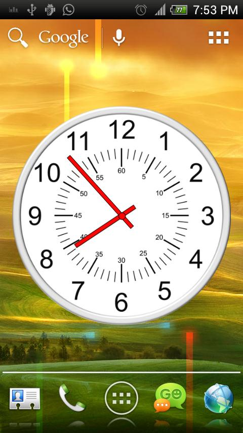 Analog Clock - Classic Theme 1 APK Download - Android