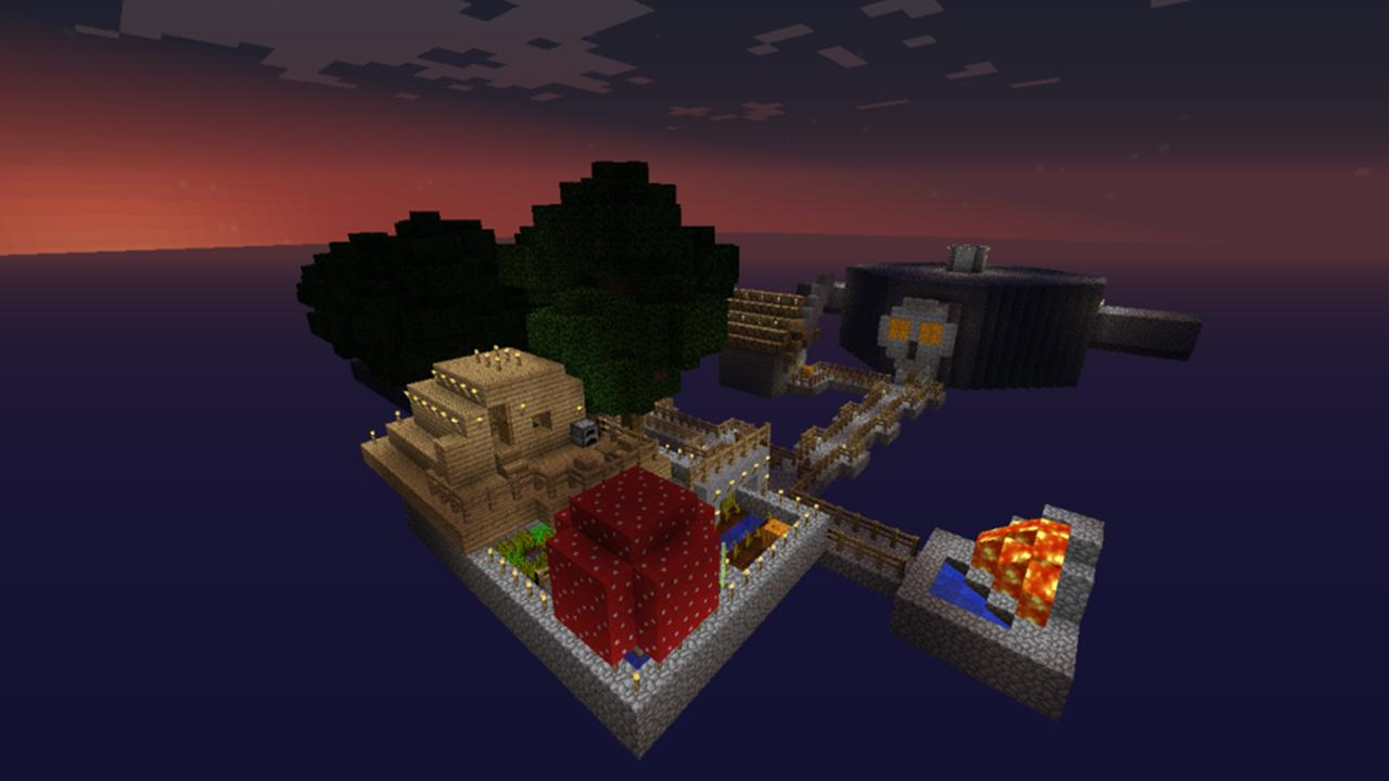 Skyblock Survival Mini Game APK Download Android Adventure Games - Minecraft maps skyblock 1 11 2