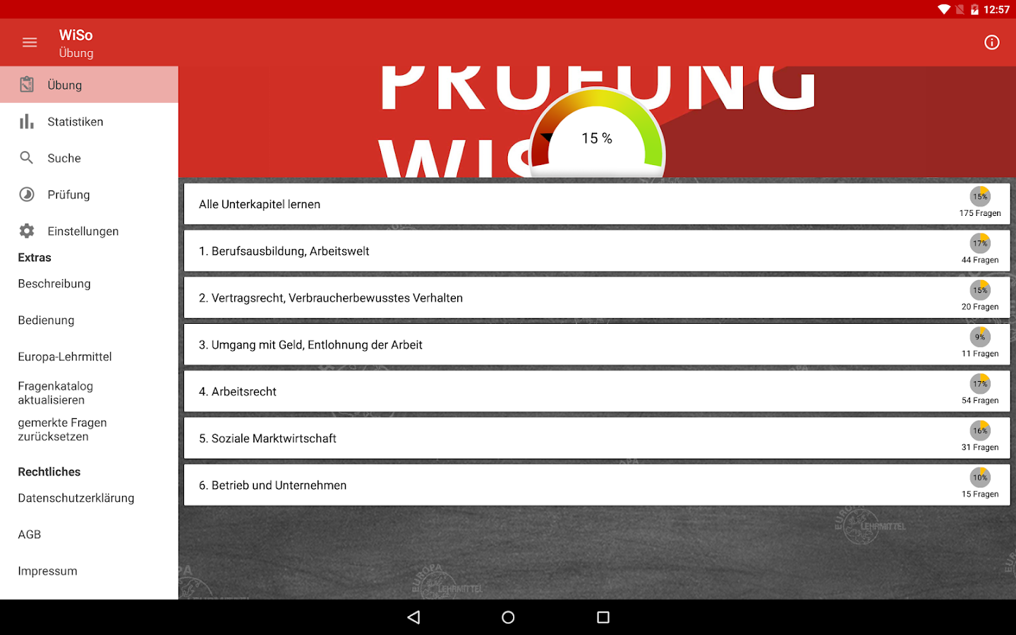 Prüfung WiSo 2.0 APK Download - Android Education Apps