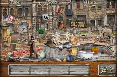 Hidden Objects Haunted Mystery Ghost Towns Puzzle 1.3 screenshot 5