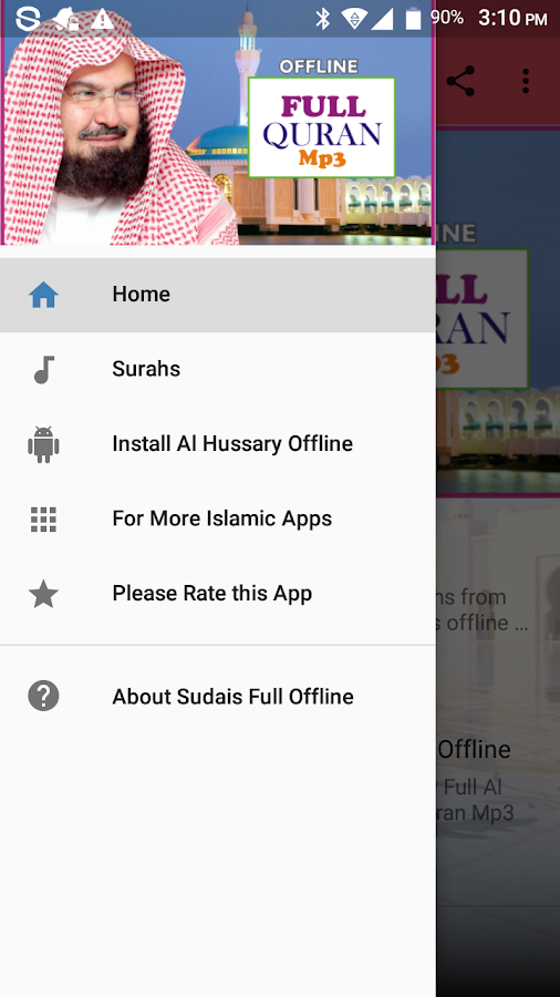 Sudais Full Offline Quran Mp3 APK Download - Android Music