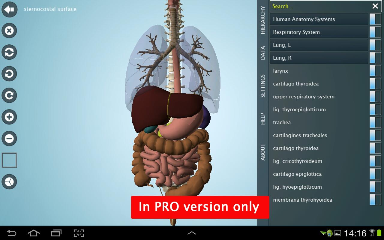 Anatomy 3D - Anatronica 2.06 APK Download - Android Medical Apps