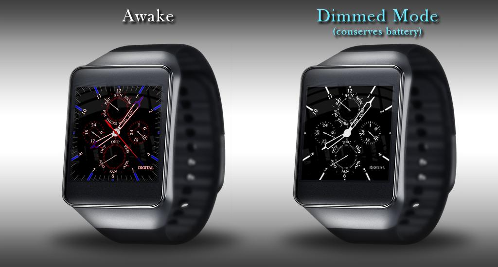 Watch Face - D1 Android Wear 2 0 APK Download - Android