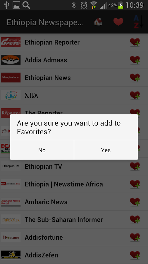 Ethiopia Newspapers And News 1 0 APK Download - Android News