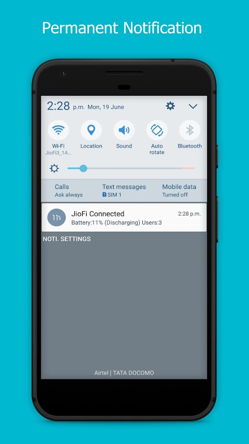 Hotspot Manager for JioFi 1 9 APK Download - Android Tools Apps