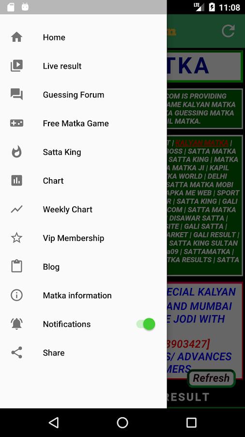 Satta Matka: Satta King Kalyan Results, Tips Chart 1 1 APK