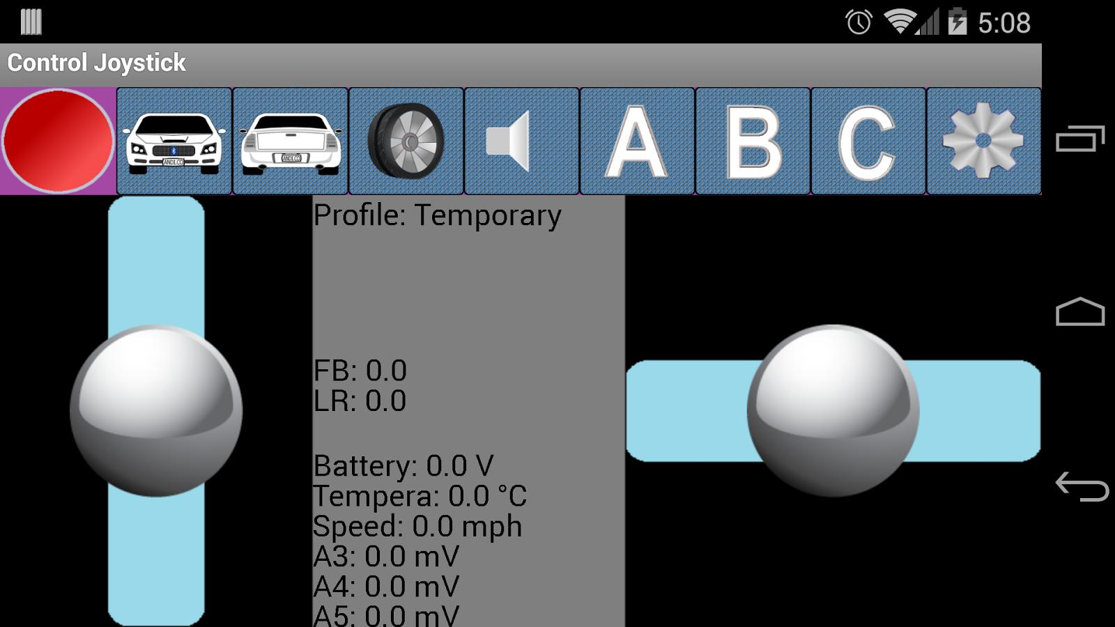 Arduino Joystick Controller 1 2 APK Download - Android