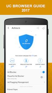 New UC Browser Guide 2017 1.1 screenshot 3