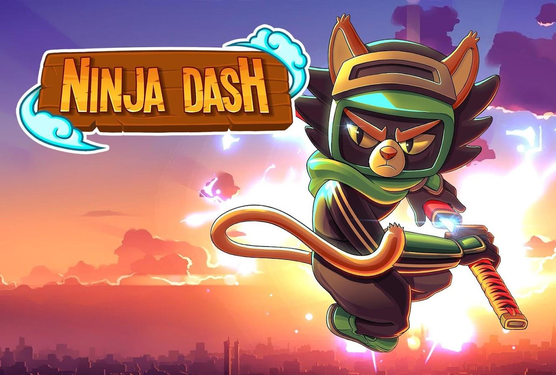 Ninja Dash - Shinobi Warrior: Run, Jump & Slash 1 3 4 APK