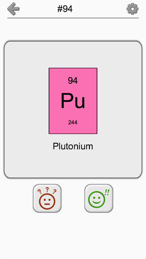 Chemical Elements And Periodic Table Symbols Quiz 22 Apk Download