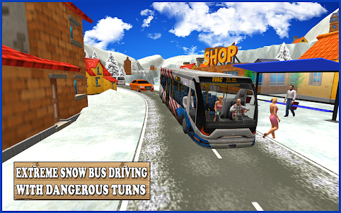 Extreme Snow Bus Driving 1.1 screenshot 8
