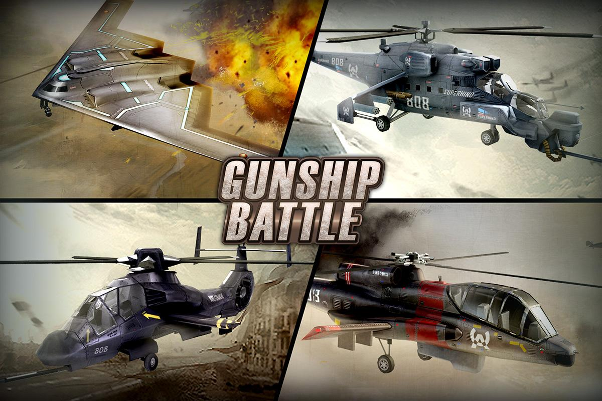GUNSHIP BATTLE: Helicopter 3D APK Download - Android Action