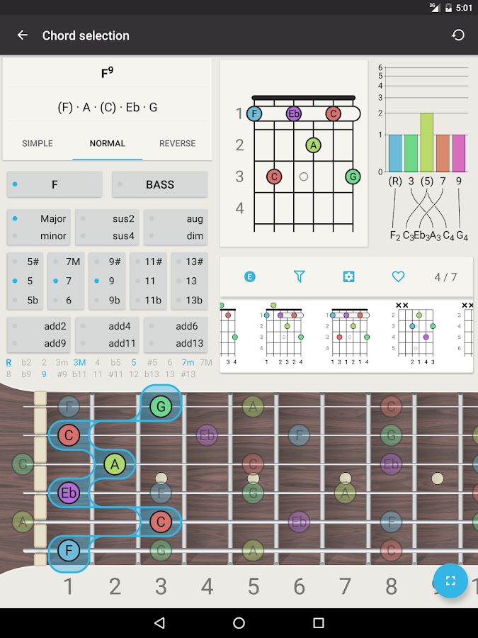 Chord Guitar Chord Finder 42 Apk Download Android Music