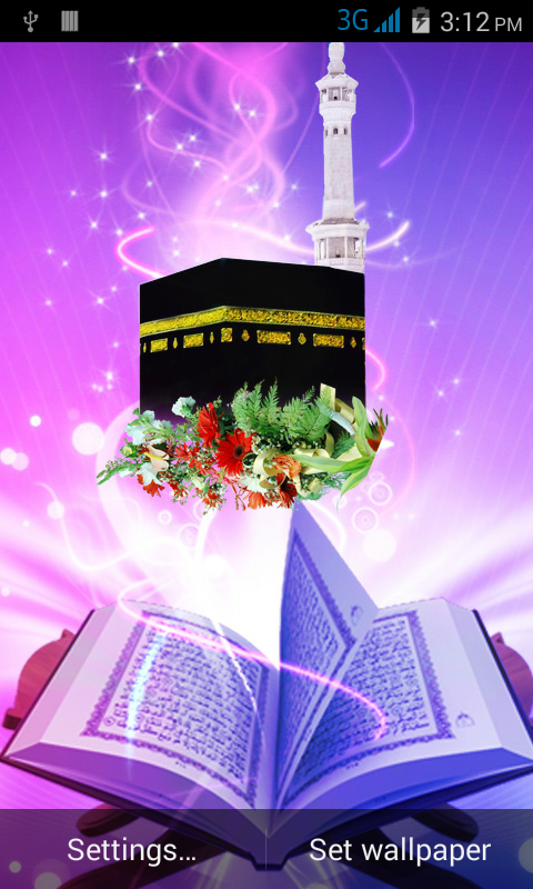 Islamic Live Wallpaper 10 Screenshot 3