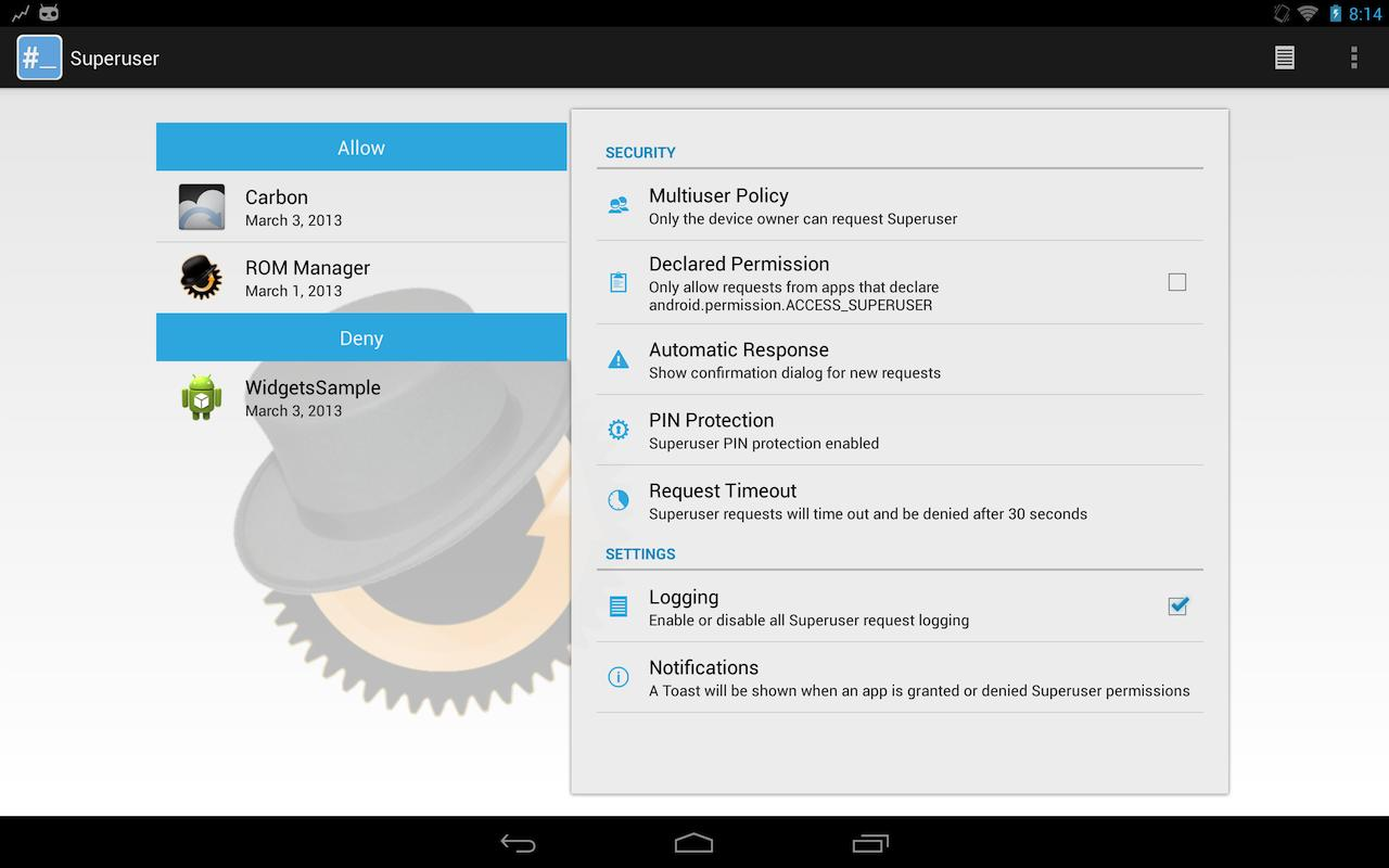 Superuser 1 0 3 0 APK Download - Android Tools Apps