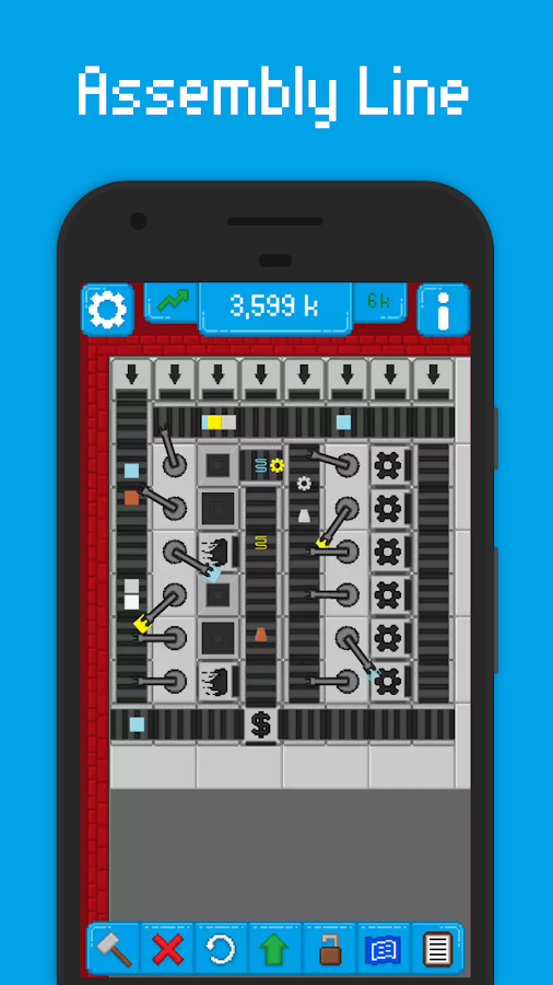 Assembly Line 1 4 2 3 APK Download - Android Strategy Games