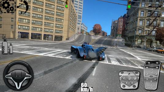 Driving The Batmobile 1.1 screenshot 1