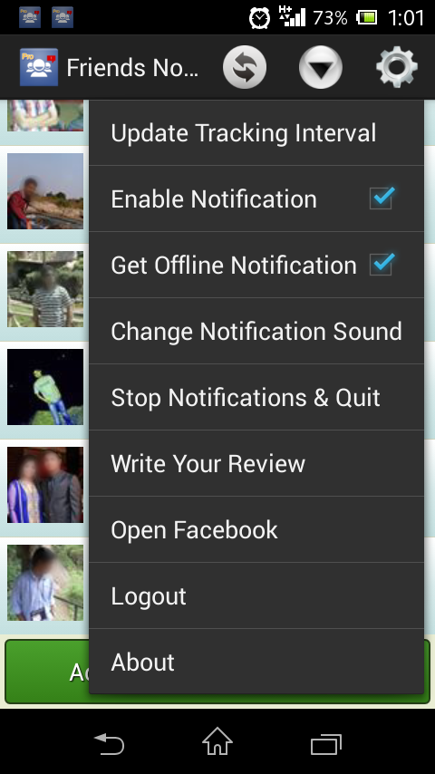 Online Notifier For Facebook 4 1 APK Download - Android Social Apps