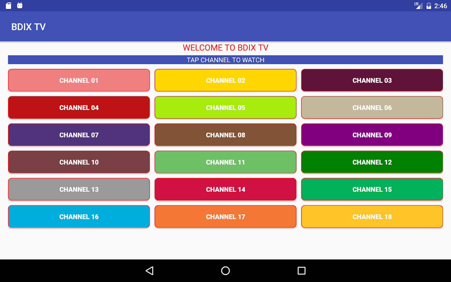 BDIX TV 2 0 APK Download - Android cats video_players_editors Apps