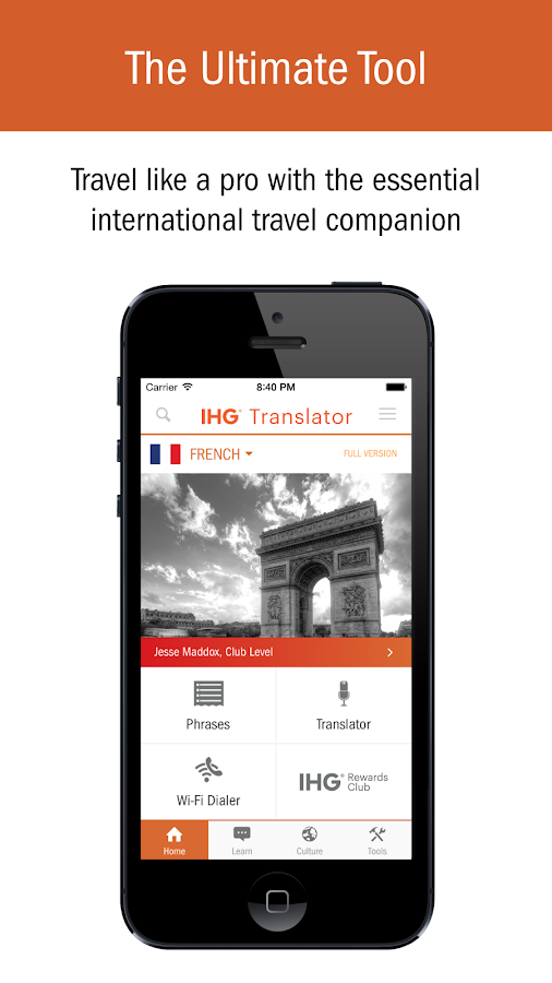 IHG® Translator 5 1 9 APK Download - Android Travel & Local Apps