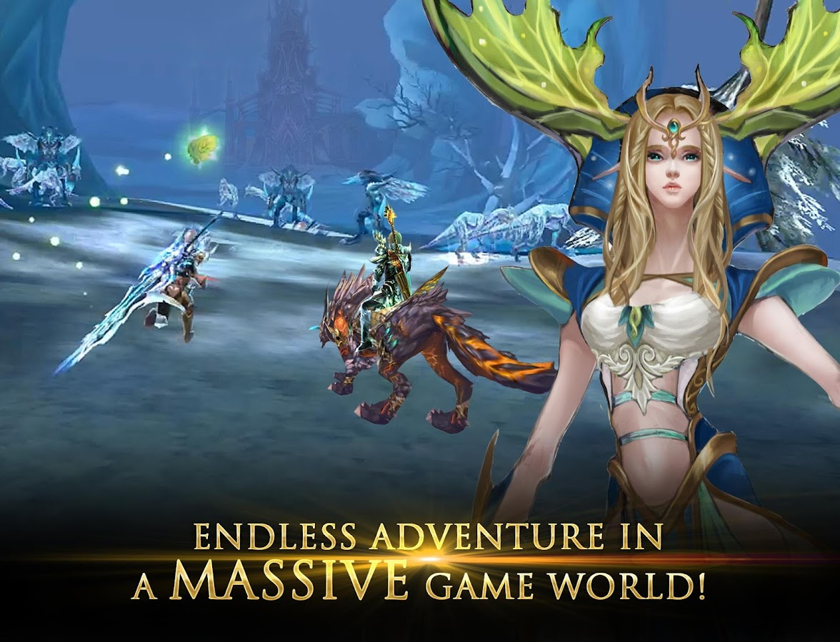 forsaken world mobile apk 2018