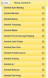 Various Sambal Nusantara Recipes 1.0 screenshot 2