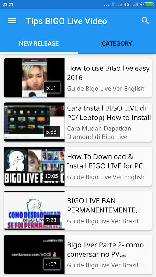 Tips BIGO Live Video 1 0 APK Download - Android