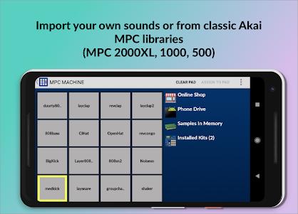 MPC MACHINE - Sampling Drum Machine Beat Maker 1.36 screenshot 2