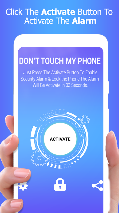 Don't touch my cell phone: Burglary Alarm 1 4 APK Download - Android