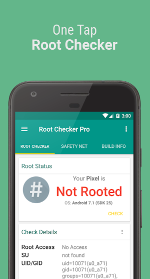 Root Checker Pro 3 3 0 APK Download - Android Tools Apps