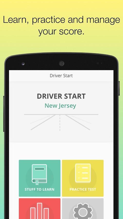 dmv drivers permit test nj