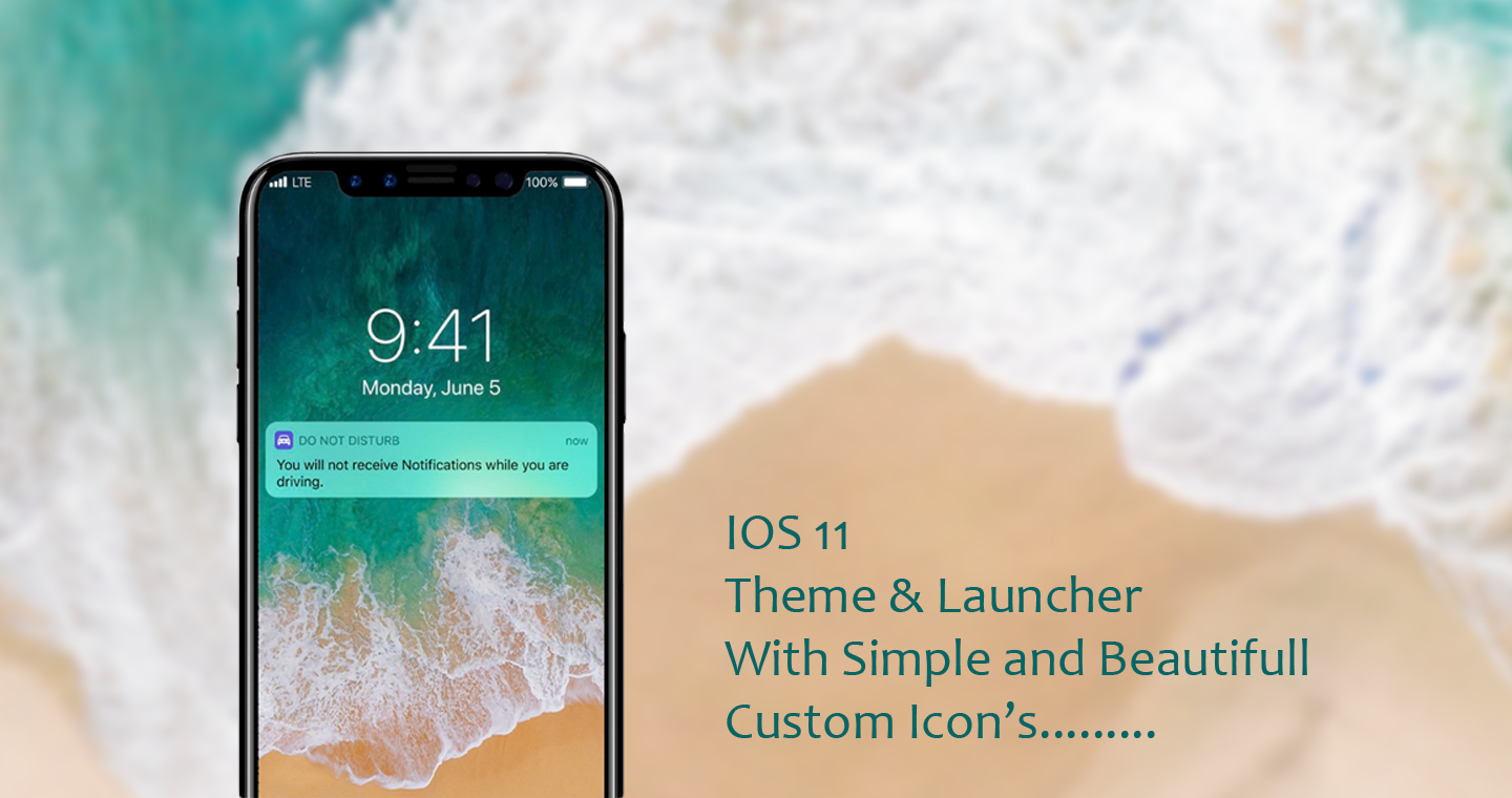 download launcher ios 11 for android