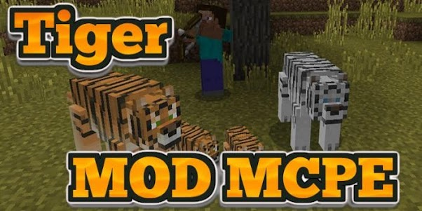 Tiger MOD MCPE 4.0 screenshot 1