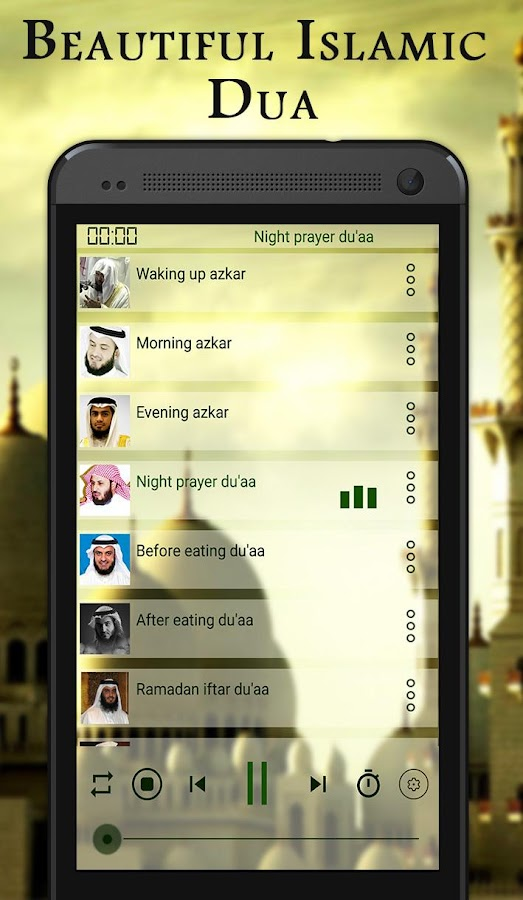 Beautiful Islamic dua mp3 3 2 APK Download - Android Music