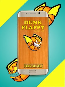 Flappy hungrey dunk 1.2 screenshot 1