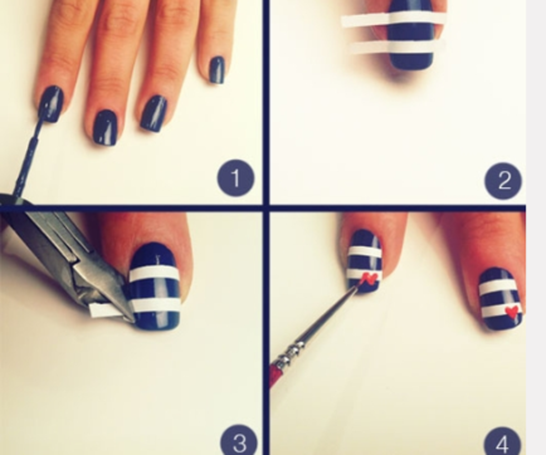 Nail Art Designs Step By At Home | Flisol Home
