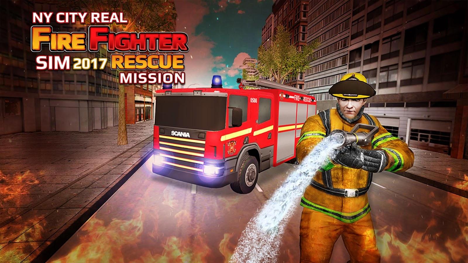 видео прохождений игр про пожарных меня