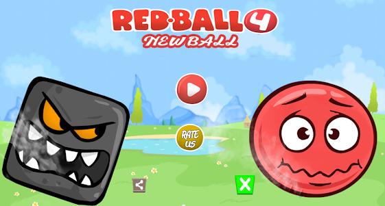 Jump Ball 4 - New Red Ball Adventure 2.3 screenshot 1