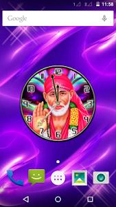 Shirdi Sai Baba Clock 1.1 screenshot 1