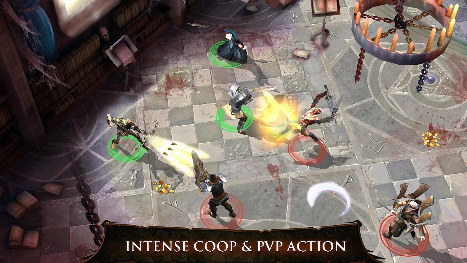 dungeon hunter 3 apk paradise