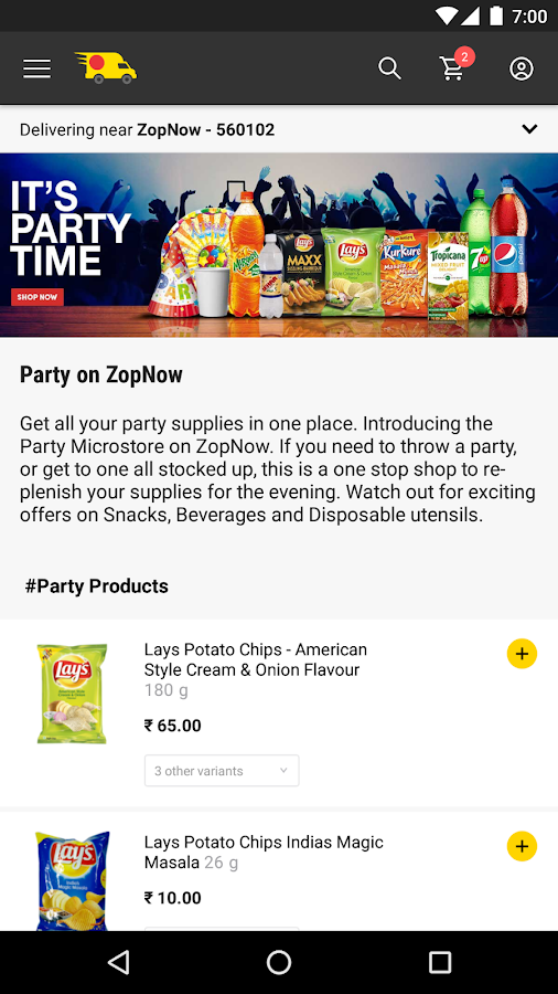 ZopNow - Grocery Shopping APK Download - Android Shopping Apps