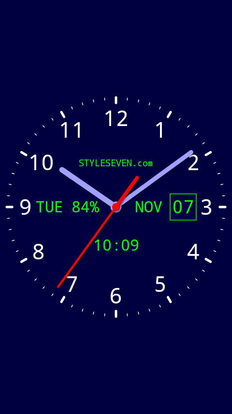 Analog Clock Live Wallpaper-7 PRO 3 13 APK Download