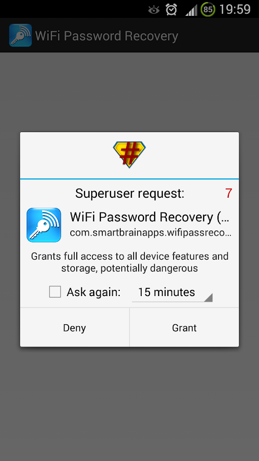 Wifi Password Recovery (ROOT) 1 3 1 APK Download - Android Tools Apps