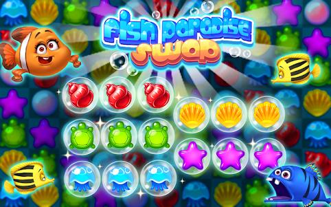 Fish Paradise Swap 1.1 screenshot 1