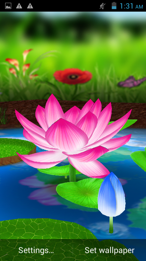 Lotus 3D Live Wallpaper 22 APK Download
