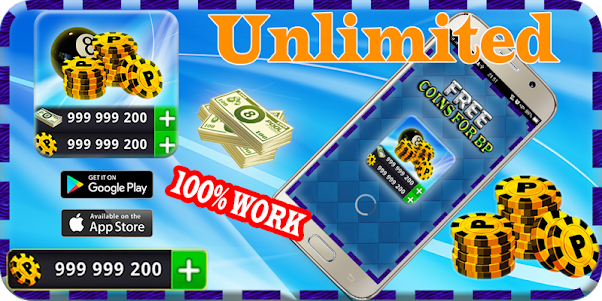Instant ball Pool Daily Rewards Free Coins & cash 1.1 screenshot 1