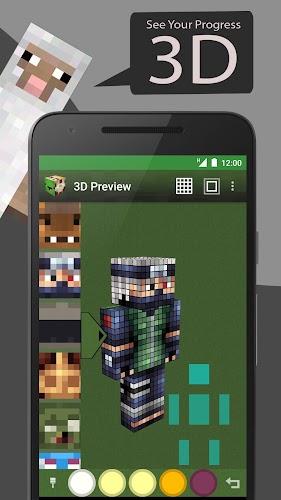 Skin Editor Tool For Minecraft Apk