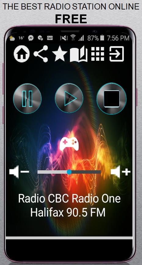 CA Radio CBC Radio One Halifax 90 5 FM App Radio F 1 0 APK
